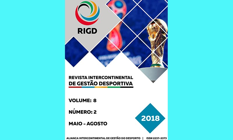 Disponible el nº 2 de 2018 de la Revista Intercontinental de Gestao Desportiva