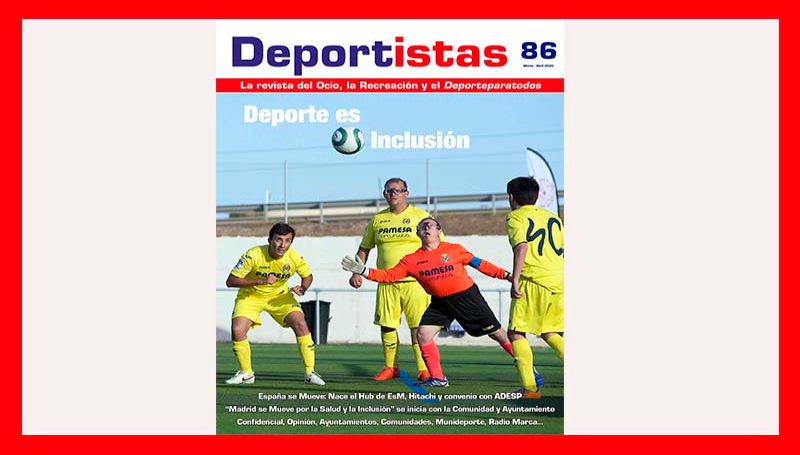 EL NUMERO 86 DE LA REVISTA DEPORTISTAS, DISPONIBLE EN FORMATO DIGITAL
